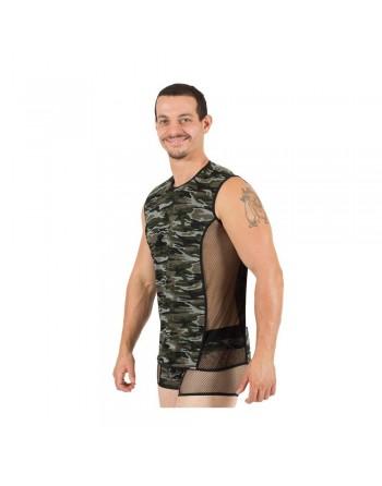 V-Shirt Military  - LM58-77
