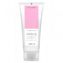 Mixgliss Eau - Sweet Bubble Gum 70 ml
