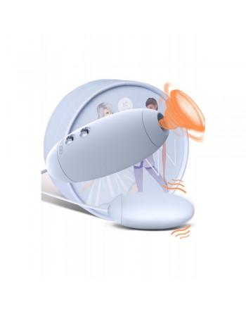 Oeuf vibrant stimulateur à succion clitoridien USB
